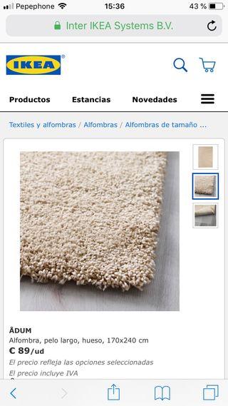Alfombra Ikea ADUM