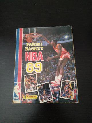 ALBUM COMPLETO PANIN BASKET NBA 89