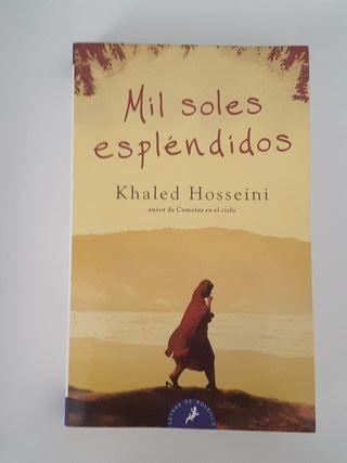 "Khaled Hosseini ""Mil soles esplendidos"""