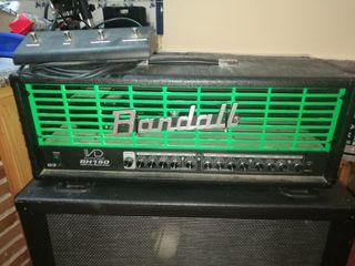 amplificador randall y pantalla peavey