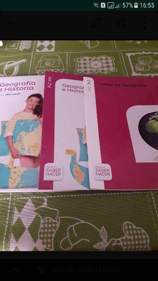libro de geografía e historia 2 de la eso