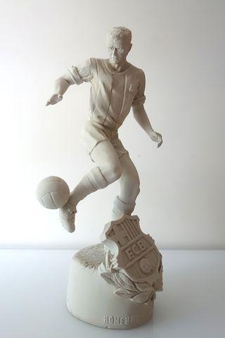 Escultura Kubala FC Bardelona
