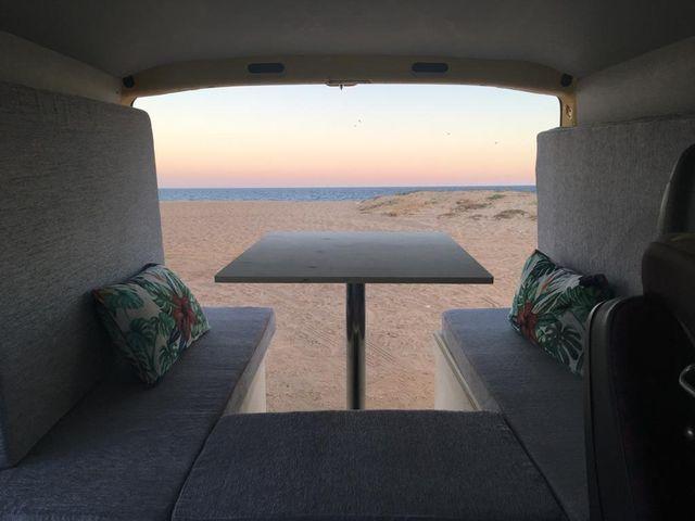 Mueble Cama Camper Madera fenolico ligera y resis