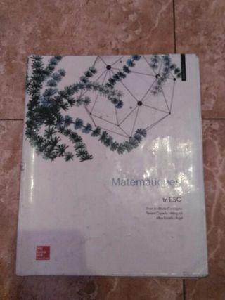 libro matematicas 1 eso
