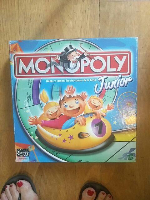 Juego Mesa Monopoly Junior De Segunda Mano Por 7 En Madrid En Wallapop