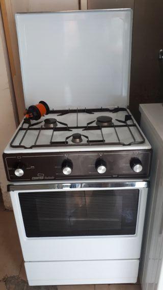 cocina gas butano Cointra completa