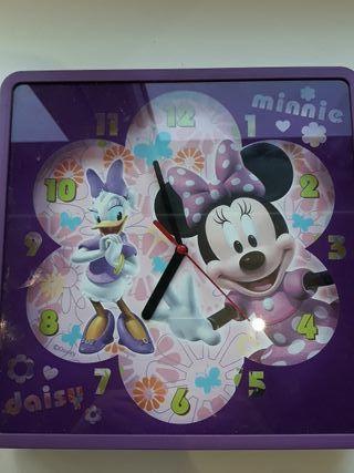 Reloj de pared habitación infantil Disney