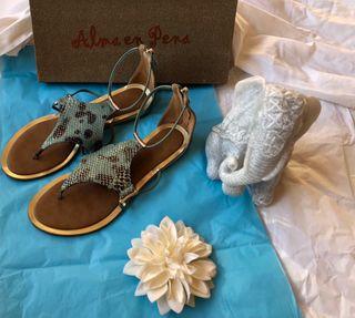 Sandalias planas Alma en Pena
