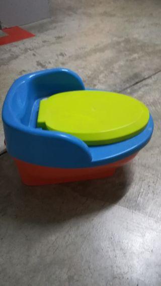 orinal portátil para niños