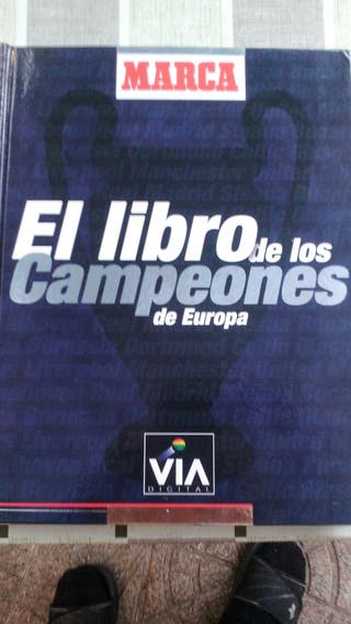libro. campeones de europa