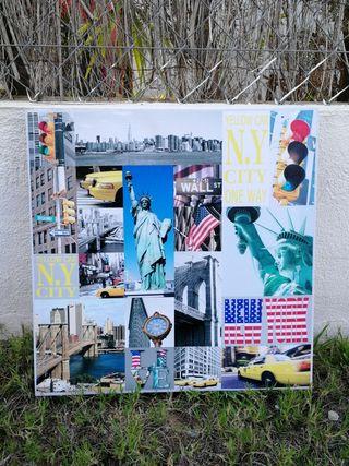Lienzo Nueva York 40x40