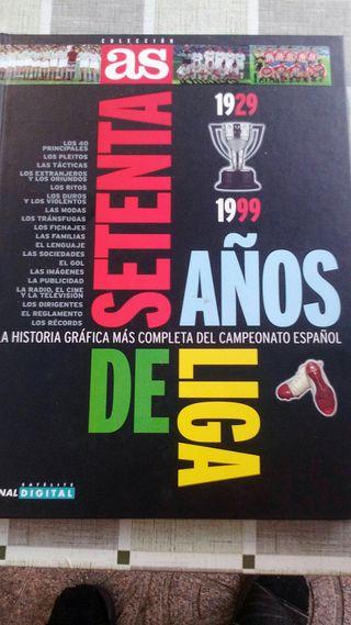 libro. 70 años de liga 1929-1979