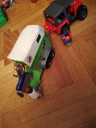 Transporte de caballos Playmobil