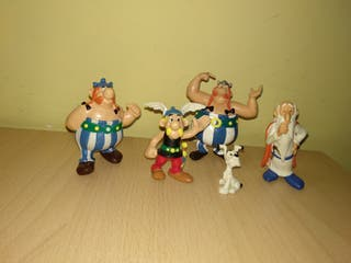 Figuras Asterix Obelix comics spain PVC retro