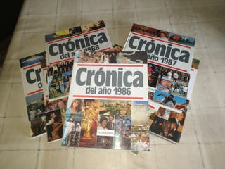 Crónica de los años 1986 al 1992
