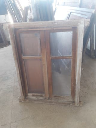 venta i contraventana de madera