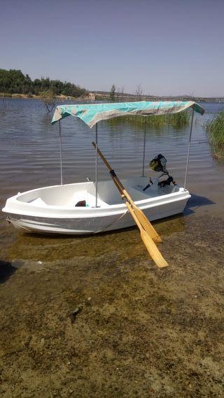 barca bote barco lancha de fibra