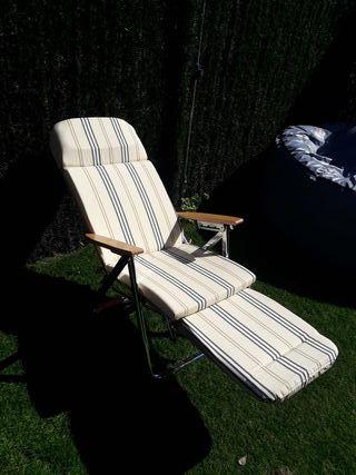 silla hamaca playa piscina