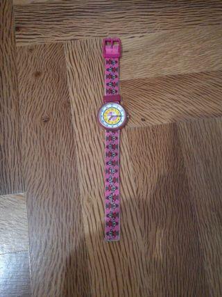 reloj flik flak de los 90
