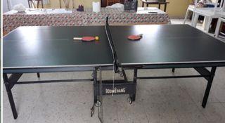 mesa de ping pong boomerang