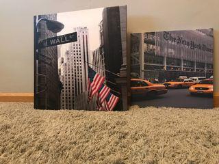 Pack Cuadros Nueva York