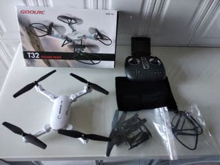 drone t32 con camara fpv y movil.nuevo+curso 1hora