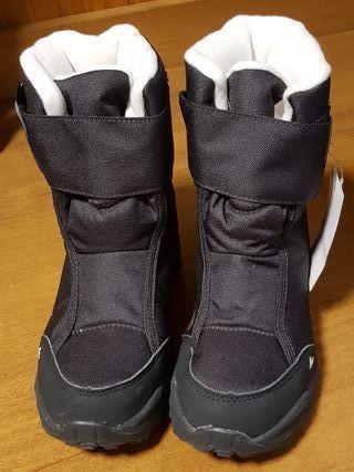 botas niño nieve