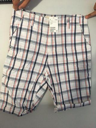 Pantalones NUEVOS cortos h&m talla mas 14