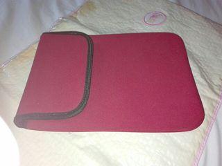 Funda tablet de neopreno roja 20 cm x 26 cm