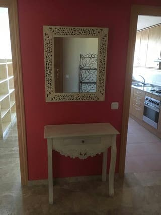 Conjunto Recibidor mueble y espejo