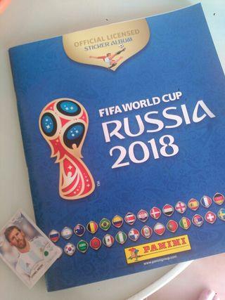 album mundial rusia y Messi