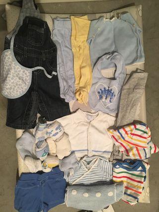 Lote ropa recien nacido verano