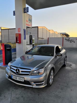 Mercedes c 220 cdi coupe amg