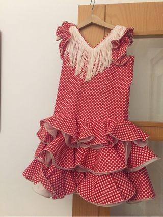 Por € Calp Segunda Flamenca Mano Vestido Wallapop En Niña 35 De c4AqS35RLj