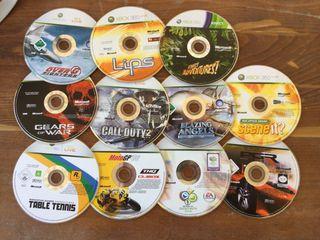 Lote 11 juegos originales Xbox 360