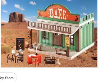 Playmobil banco wester