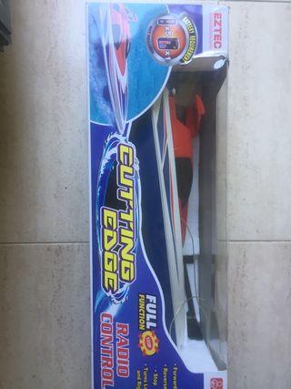 Barco radio control juguete