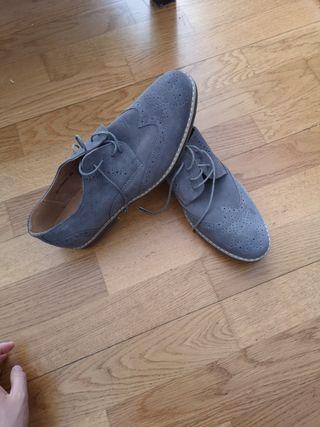 Zapatos de piel,talla 43,100% nuevo,100% de piel