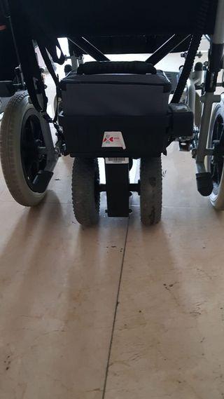 silla de ruedas con motor para acompañante