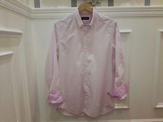 Camisa hombre rayas Massimo Dutti talla M
