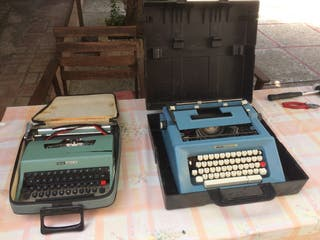 Máquinas escribir Olivetti