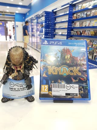 KNACK PS4 IMPECABLE