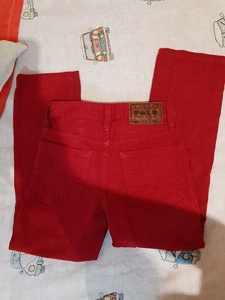 Vaquero rojo Ralph Lauren 8 años