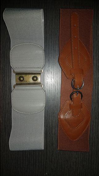 2 cinturones elasticos