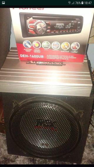 instalación equipos de audio