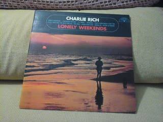 Lp de CHARLIE RICH ( COUNTRY AMERICANO )
