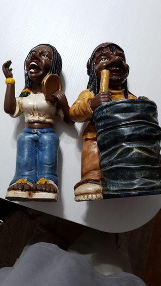 muñecos africanos