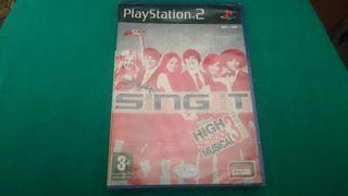 Sing It Play Station 2 PRECINTADO