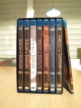 Pack 7 temporadas de Juego de tronos