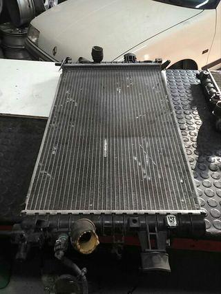 radiador agua opel